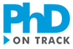Klikkbar logo for PhD on Track