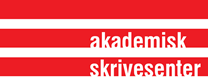 Clickable logo for Akademisk skrivesenter
