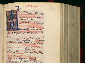 Page showing a music sheet