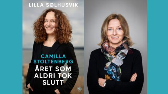 Portrett av Camilla Stoltenberg og Lilla Sølhusvik.