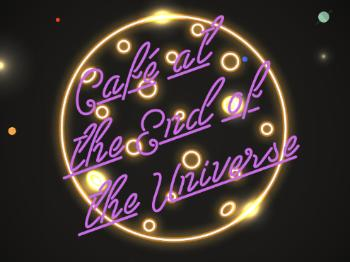 Logo Cafe at the end of the universe