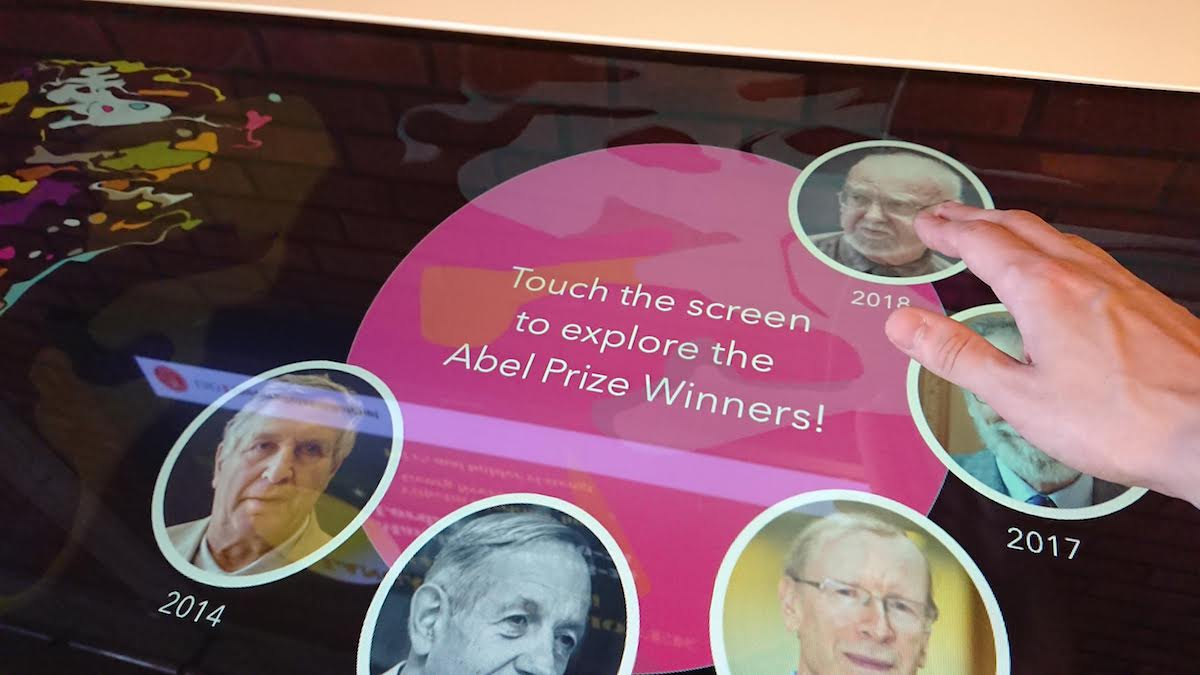 Abel Prize 2018 touch app